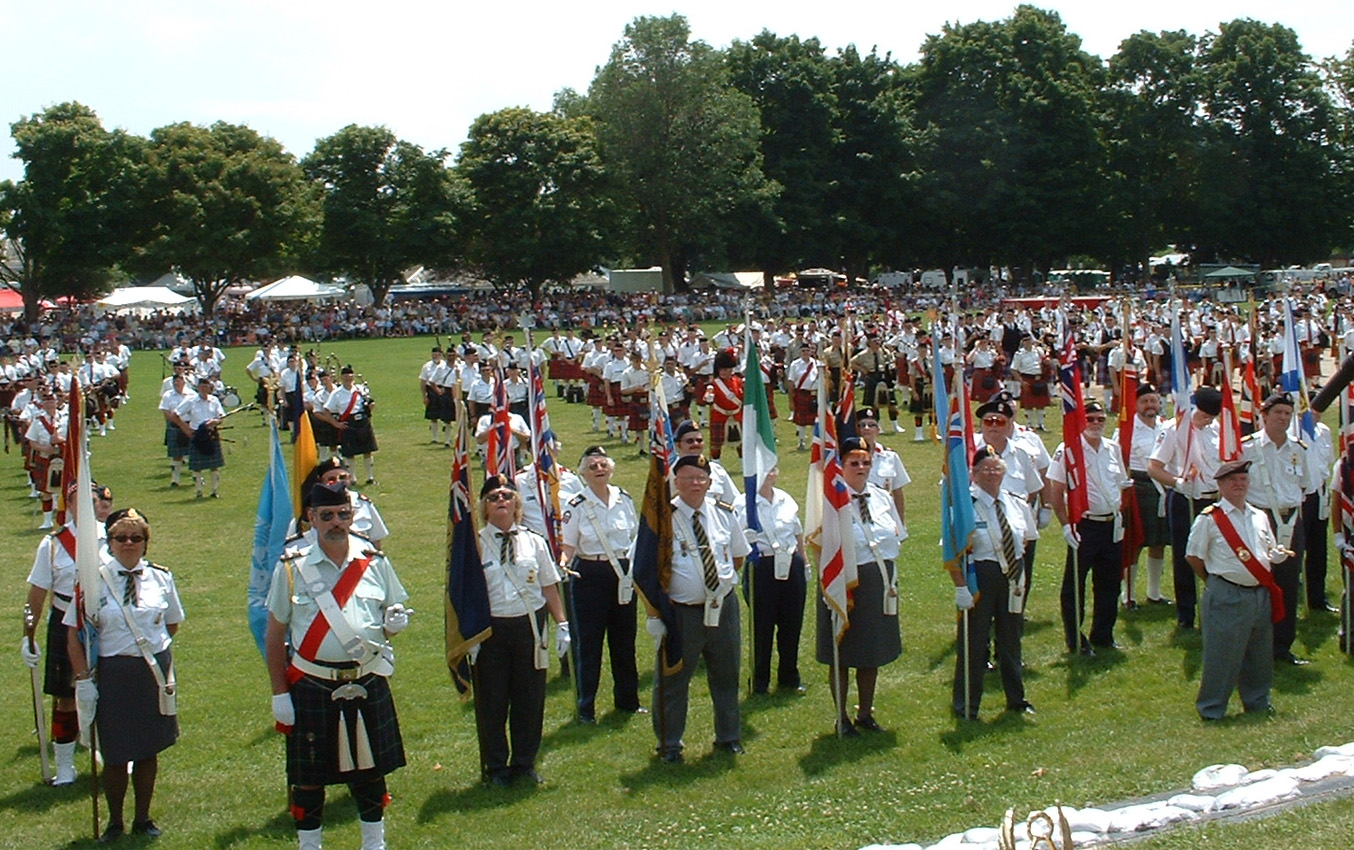 Orillia Scottish Festival @ Couchiching Beach Park